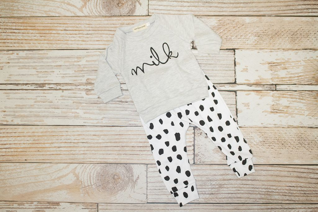 "Lincoln&Lexi ""Milk"" 2 Piece Set"