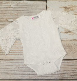 Lincoln&Lexi The Luca Lace Onesie