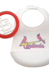 CHEWBEADS MLB BIB. ST LOUIS CARDINALS