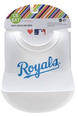 CHEWBEADS MLB BIB. KANSAS CITY ROYALS