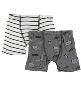 Kickee Pants Boxer Briefs Set (Set of 2)
