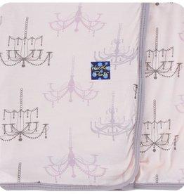 Kickee Pants Print Swaddling Blanket Macaroon Chandelier