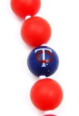 CHEWBEADS MLB Gameday Necklace. Minnesota Twins