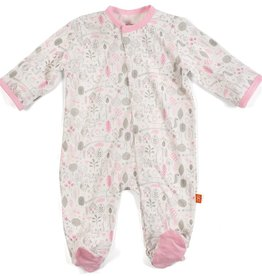 Magnificent Baby Pink Into the Woods Modal Magnetic Footie