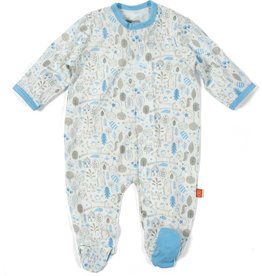 Magnificent Baby Blue Into the Woods Modal Magnetic Footie