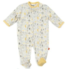 Magnificent Baby Yellow Into the Woods Modal Magnetic Footie