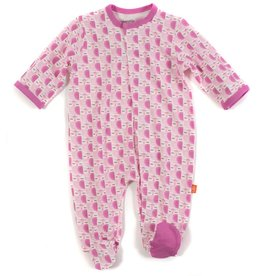 Magnificent Baby Mod Owls Modal Magnetic Footie