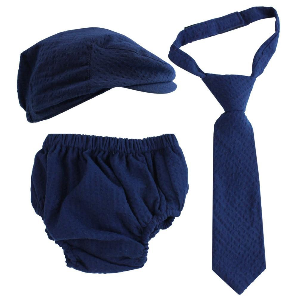 juDanzy BlueSeersucker 3-piece Set