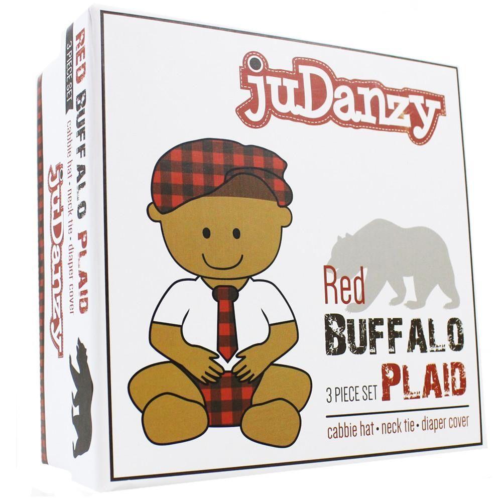 juDanzy Buffalo Plaid 3 Piece Gift Set