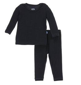 Kickee Pants Basic Long Sleeve Pajama Set