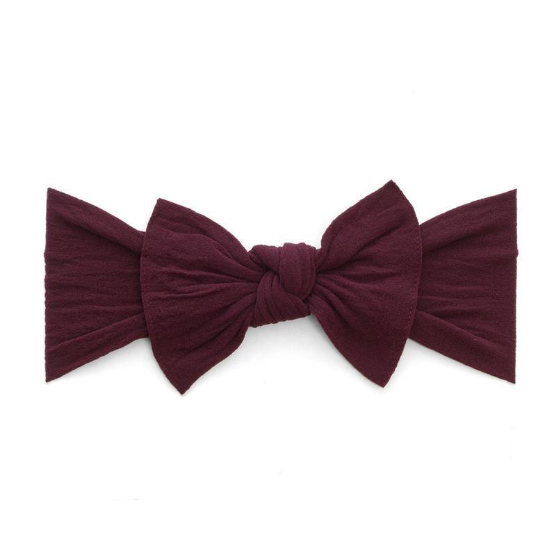 Baby Bling Knot (Burgundy)