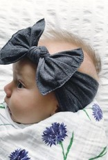 Baby Bling Patterned Knot (Heather Charcoal)