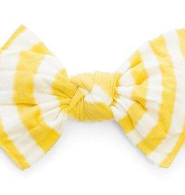 Baby Bling Patterned Knot (Mustard Stripe)