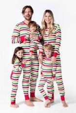 Hatley Union Suit - Christmas Stripe