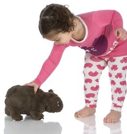 Kickee Pants Plush Toy (Wobble E. Wombat - One Size)