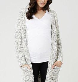 Ripe Maternity Blizard Textured Cardi
