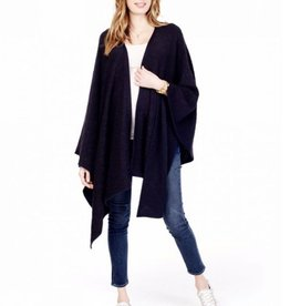 Ingrid & Isabel Jet Black Cozy Wrap.OS