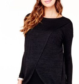 Ingrid & Isabel Cross Front Pullover + Nursing