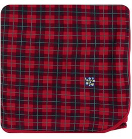 Kickee Pants Large Throw Blanket in Plaid (One Size)