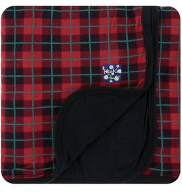 Kickee Pants Print Stroller Blanket in Plaid (One Size)
