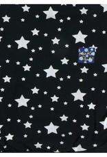 Kickee Pants Print Swaddling Blanket in Silver Stars (One Size)