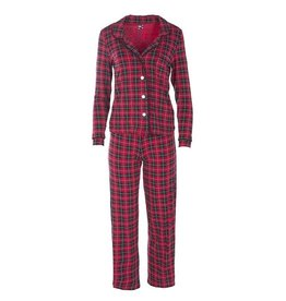 Kickee Pants Print Collared Pajama Set