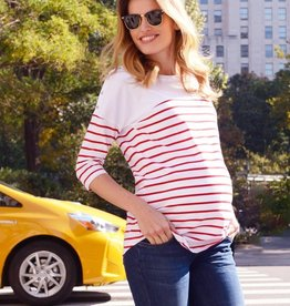 Seraphine Jillian Stripe Nursing Top