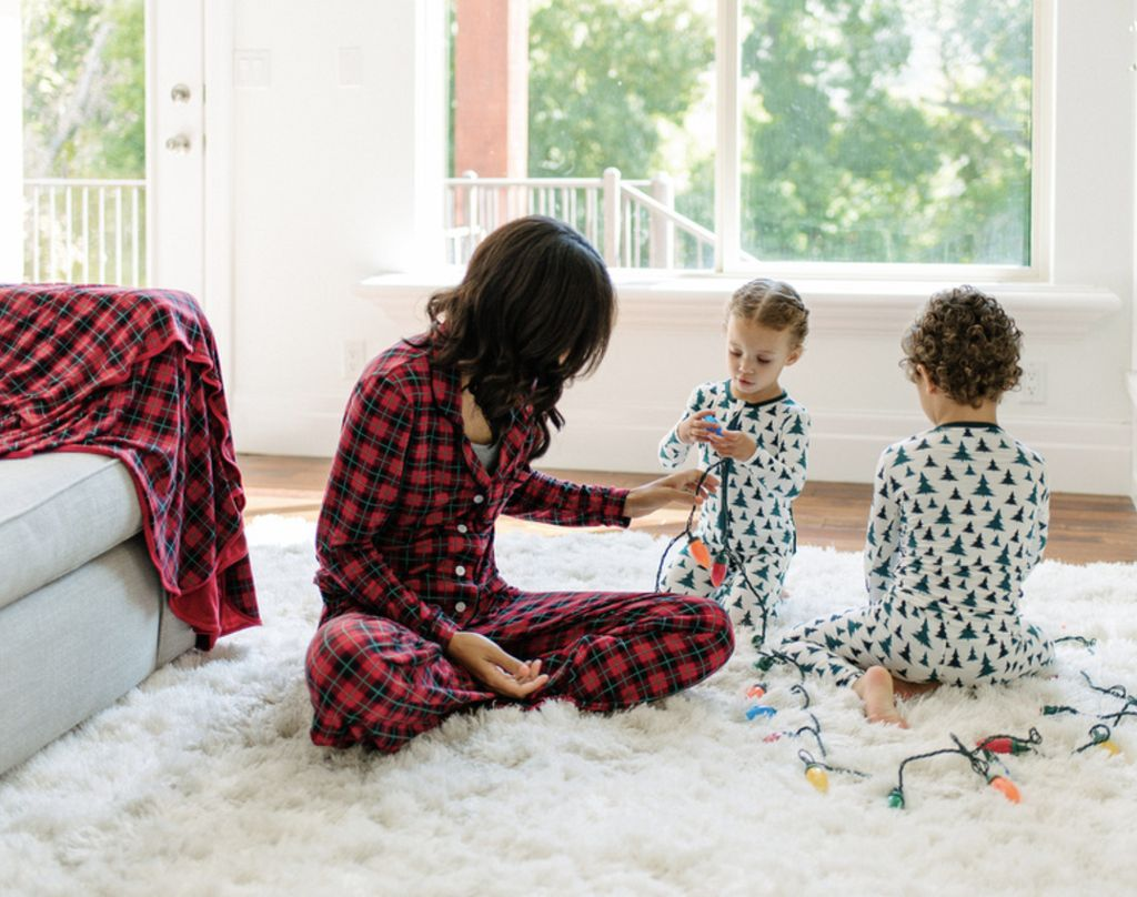 Kickee Pants Print Long Sleeve Pajama Set