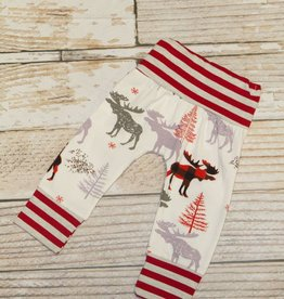 Lincoln&Lexi Moose Holiday Pants