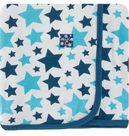Kickee Pants Print Swaddling Blanket (Confetti Star - One Size)