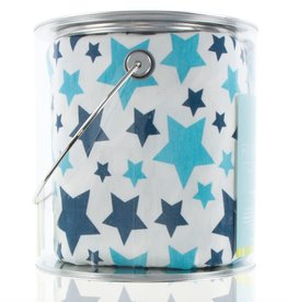 Kickee Pants Print Fitted Crib Sheet (Confetti Star - One Size)