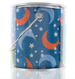 Kickee Pants Print Fitted Crib Sheet (Twilight Moon and Stars - One Size)