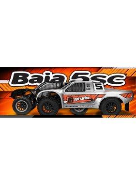 HPI HPI BAJA 5SC SHORT COURSE TRUCK 1/5 SCALE MATTE BLACK NOW INCLUDES 240V RX BATTERY CHARGER