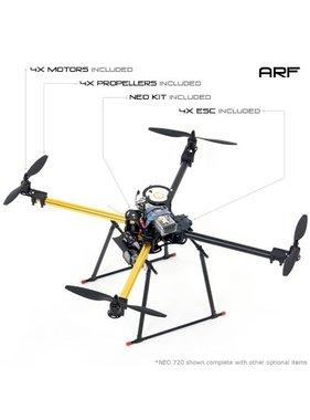 DJI CENTURY UAV NEO 720 QUADCOPTER MULTI-ROTOR ARF KIT