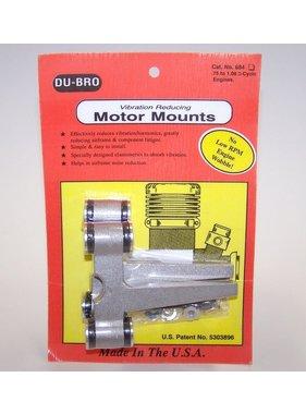DUBRO DUBRO VIBRATION REDUCING MOTOR MOUNTS 75-108