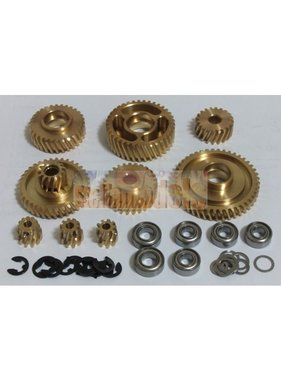 ACE RADIO CONTROLLED MODELS Metal Helical Gear Set for Tractor Truck<br />HIGH QUALITY HELICAL GEAR SET FOR TRACTOR TRUCKS
