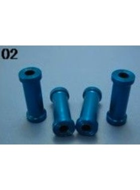 HY MODEL ACCESSORIES HY GASOLINE ENGINE STANDOFF SET M5xD12xL30mm X4PCS<br />( OLD CODE HY270502 )