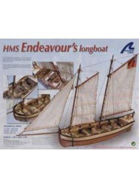 ARTESANIA ARTESANIA HMS ENDEAVOURS LONGBOAT