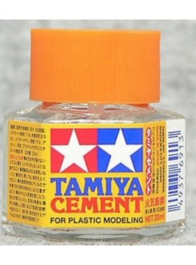 TAMIYA TAMIYA CEMENT BRUSH ON  40ML BOTTLE