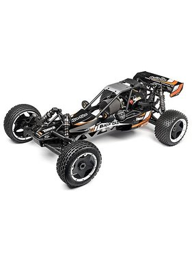 HPI HPI BAJA 5B 2.2 2016 EDITION with d box ( drift  box ) MATTE BLACK or GUN METAL  BODY  READY TO RUN <br />WITH OIL &amp; 240V RX CHARGER