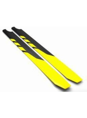 ROTORTECH ROTORTECH 600mm CARBON BLADES 50 SIZE