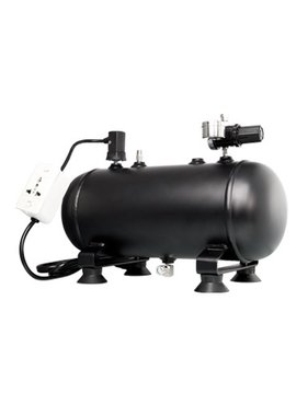SPARMAX SPARMAX 5300ml AIR TANK WITH PRESSURE GAUGE & SAFETY CUTO OFF SWITCH SUITS COMPRESSORS