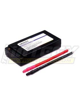 INTEGY INTEGY 60C HARD CASE LIPO 5200MAH  SADDLE PACK ( SUPPLIED AS 2 X 3.7V PACKS )