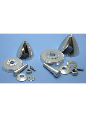 HY MODEL ACCESSORIES HY ALUMINIUM E-PROP SPINNER D40 X H37mm 4.0mm SHAFT<br />( OLD CODE  HY021002C )