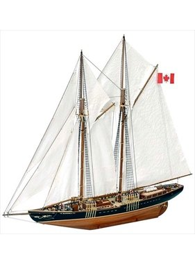 ARTESANIA Artesania Latina 22453 Bluenose II, Complete Wooden Model Ship Kit, 1:75 Scale Historic Replica