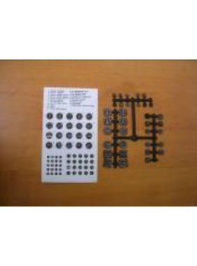 HY MODEL ACCESSORIES HY INSTRUMENT PANEL SET