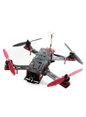 EMAX Nighthawk Pro 280 size Carbon fiber and Glass fiber mixed Quadcopter frame-ARF