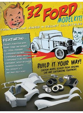 ACME ACME 1/18 32 FORD ROADSTER KIT DIECAST