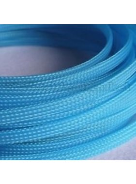 ACE IMPORTS ACE 10MM PLASTIC MESH SLEEVING LIGHT BLUE PER METER