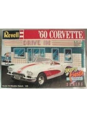 REVELL REVELL 60 CORVETTE SKIPS FIESTA DRIVE IN SERIES 1/25 SCALE 7164
